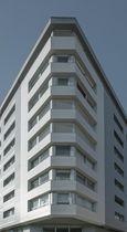 Rivestimento di facciata in ceramica / liscio / per facciata ventilata