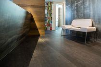Rivestimento murale in fibra di legno / per uso domestico / lucido / aspetto metallo