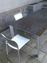 Pannello decorativo per mobili / in ceramica / a effetto dimensionale / aspetto metallo