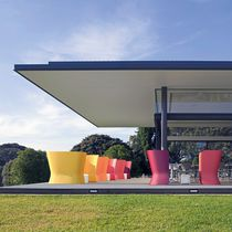Divano moderno / da giardino / in plastica / 2 posti