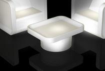 Tavolino basso moderno / in plastica / da interno / luminoso