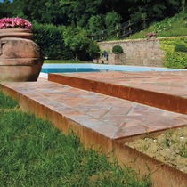 Bordura da giardino / divisoria / di protezione / per allestimenti paesaggistici