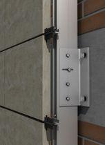 Sistema di fissaggio alluminio / per rivestimento di facciata / per facciata ventilata / per esterni