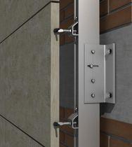 Sistema di fissaggio in acciaio inox / per rivestimento di facciata / per facciata ventilata / per esterni