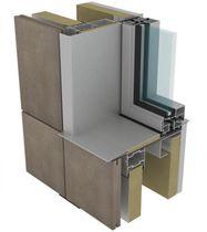 Sistema di fissaggio metallo / per facciata continua / per rivestimento di facciata / per facciata ventilata