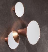 Specchio a muro / moderno / rotondo / in alluminio