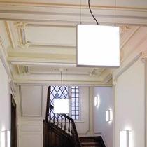 Luce a sospensione / fluorescente compatta / alogena / lineare