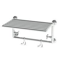 Radiatore scaldasalviette elettrico / in metallo / classico / orizzontale