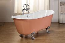 Vasca da bagno su piedi / ovale / in ghisa