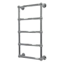 Radiatore scaldasalviette ad acqua calda / in metallo / classico / verticale