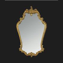 Specchio da bagno a muro / in stile / in metallo