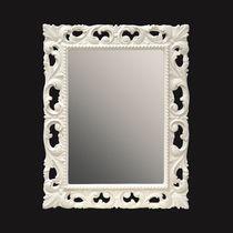 Specchio da bagno a muro / in stile / rettangolare