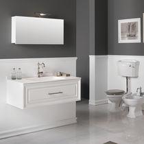 Mobile lavabo sospeso / in MDF / in ceramica / in resina