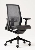 Sedia da ufficio moderna / reclinabile / regolabile / girevole