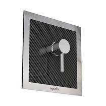 Miscelatore da doccia / da parete / in fibra di carbonio / da esterno