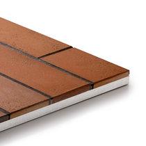 Lastra di paramento in mattoni / in gres porcellanato / in clinker / da esterno