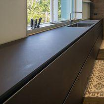 Piano di lavoro in pietra / per uso residenziale / da cucina