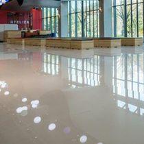 Pavimentazione in pietra naturale / lucida / liscia / aspetto piastrelle