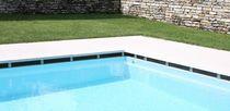 Piastrella per bagnasciuga di piscina / da pavimento / in pietra naturale / a righe