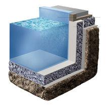 Isolante termico / in vetro cellulare / incombustibile / ecologico