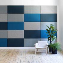 Pannello acustico per interni / per muro interno / in tessuto / colorato