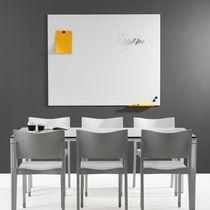 Tabellone magnetico / da parete / in vetro / in legno
