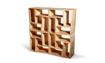 Scaffale modulare / moderno / in betulla / in legno compensato