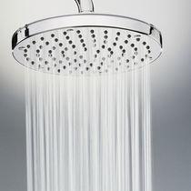 Soffione doccia da parete / rotondo / a pioggia