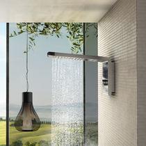 Soffione doccia da parete / rettangolare / a cascata / a pioggia