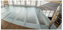 Pavimento in vetro / professionale / residenziale / a quadrotte