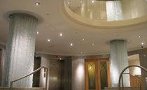 Scultura in vetro / per edifici pubblici