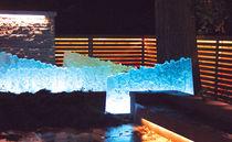 Scultura in vetro / per spazi pubblici