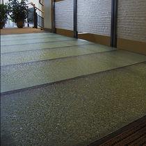 Pavimento in vetro / professionale / a quadrotte / testurizzato