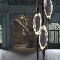 Lampadario design originale / in cristallo / in ottone / in ottone placcato oro
