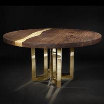 Tavolo da pranzo design originale / in legno massiccio / in frassino / in noce americano