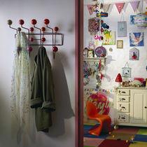 Appendiabiti a muro / moderno / in metallo / di Charles & Ray Eames