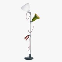 Lampada con piede / moderna / in alluminio / da interno