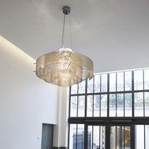 Lampada a sospensione / moderna / in acciaio inossidabile / da interno