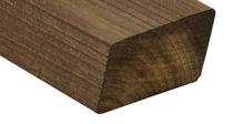 Rivestimento di facciata in legno di latifoglie / liscio / a doghe / FSC