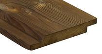 Rivestimento di facciata in legno di latifoglie / liscio / in pannello / di lunga durata
