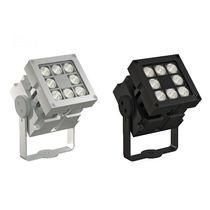 Faretto sporgente / da esterno / LED / quadrato