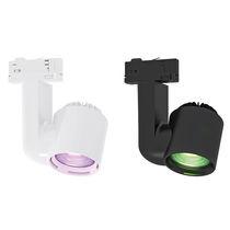 Faretti a binario LED RGB / rotonda / in ABS / per negozio