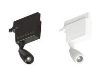 Faretti a binario LED / rotonda / in metallo / professionale