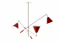 Lampada a sospensione / design originale / in alluminio / in ottone