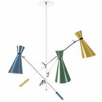 Lampada a sospensione / design originale / in alluminio / da interno