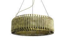 Lampada a sospensione / design originale / in ottone / da interno