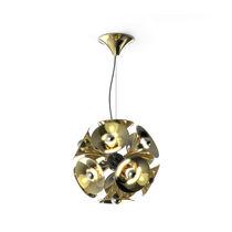 Lampada a sospensione / design originale / in nichel / in ottone