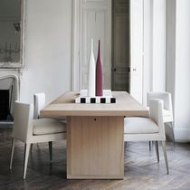 Sedia moderna / in legno massiccio / in poliuretano / di Antonio Citterio