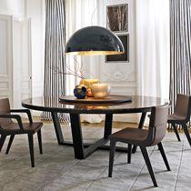 Tavolo moderno / in marmo / in quercia / rotondo
