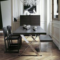 Tavolo da pranzo moderno / in legno / rettangolare / rotondo